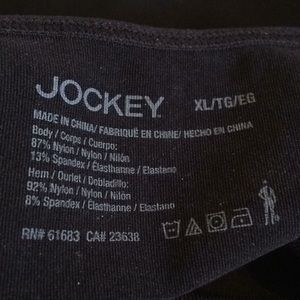 Jockey Intimates & Sleepwear - NWT Jockey Slimmer Cami. XL Black